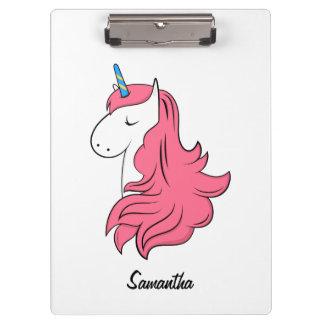 Fabulous Unicorn Clipboard