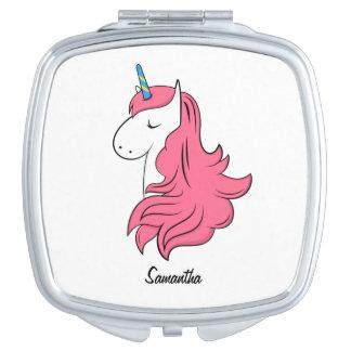 Fabulous Unicorn Compact Mirrors