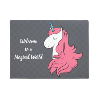 Fabulous Unicorn Doormat