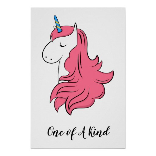 Fabulous Unicorn Poster