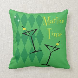 Fabulous Vintage Style Martini Cushion