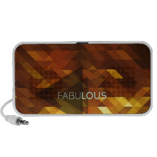 Fabulous with a sparkly,golden,luscious background notebook speakers