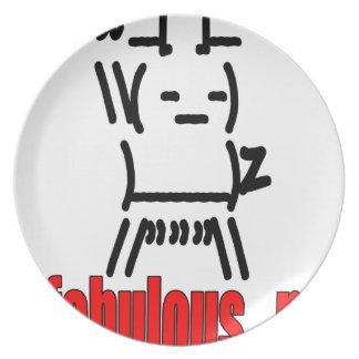 fabulousme iamfabulous old emoticon elvispresley l dinner plate