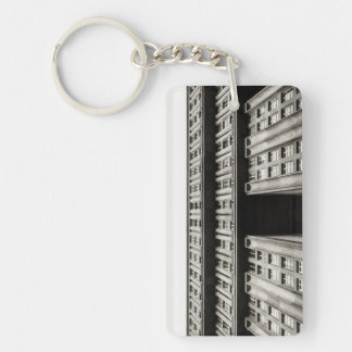 Facade of a monumental residential building I Key Ring