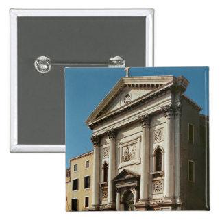 Facade of the Church of Santa Maria della Pinback Buttons