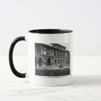 Facade of the library mug