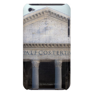 Facade of the Pantheon in Rome, Italy. iPod Case-Mate Case