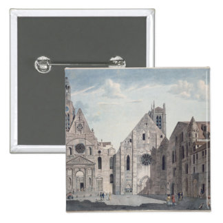 Facades of the Churches 15 Cm Square Badge