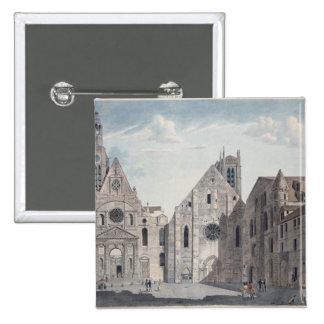 Facades of the Churches Buttons