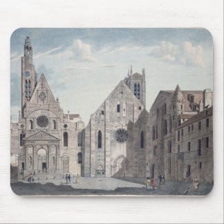 Facades of the Churches Mouse Pad