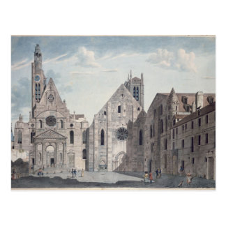 Facades of the Churches Postcard