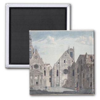 Facades of the Churches Square Magnet