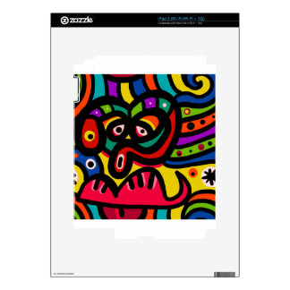 Face Decal For iPad 2