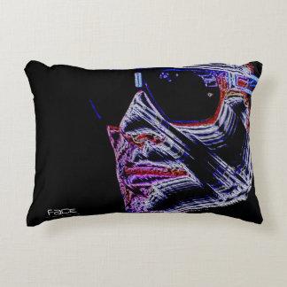 FACE - Digitally Artwork Jean Louis Glineur Decorative Cushion