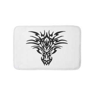 Face-Dragon-Tattoo Bath Mat