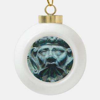 Face in the Cannon Ornament
