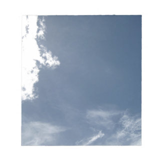 Face in the Clouds Memo Notepad