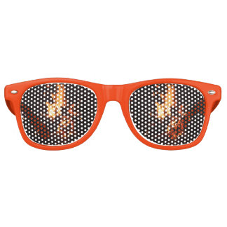 Face in the Flames Party Glasses Sunglasses