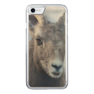 Face of a Bighorn Sheep Carved iPhone 8/7 Case