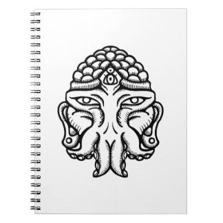 Face of Cthuda Notebook