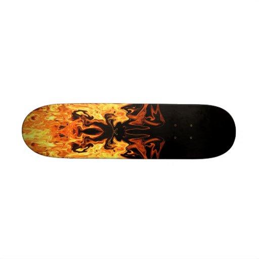 Face of Fire Skateboard