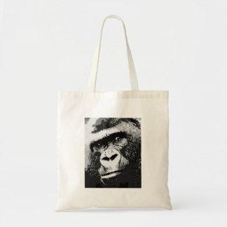 Face of Gorilla Budget Tote Bag