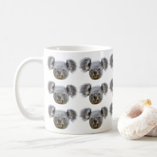 Face of koala coffee mug