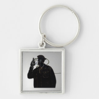 Face Off Electric Man Keychain