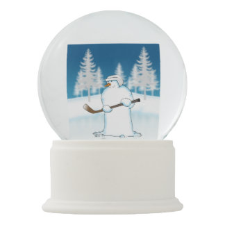 Face Off Snow Globes