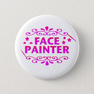 Face Painter 6 Cm Round Badge