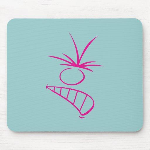 Face rage face fury mousepads