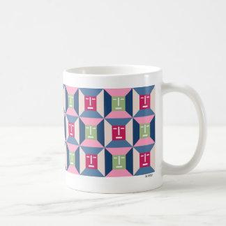 Face Squares 3 Coffee Mug