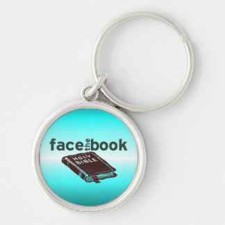 Face The Book Key Chains