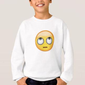 Face With Rolling Eyes Emoji Sweatshirt