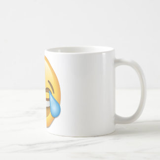 Face With Tears Of Joy emoji Coffee Mug