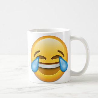 Face With Tears Of Joy emoji right Coffee Mug