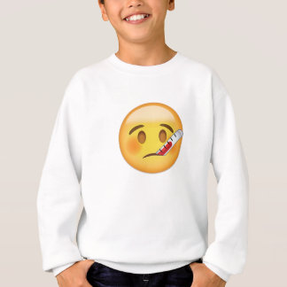 Face With Thermometer Emoji Sweatshirt