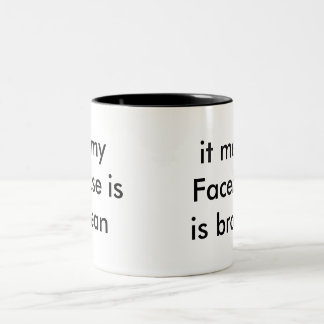 Facebook Addict mug