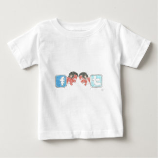 Facebook and Twitter Real Challenge T-shirts