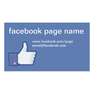 Facebook CC0059 Business Card