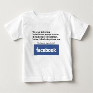 Facebook Concept Baby T-Shirt