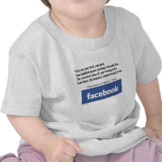 Facebook Concept T-shirt
