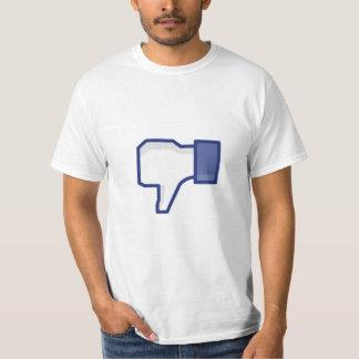 Facebook dislike button - Funny T-Shirt