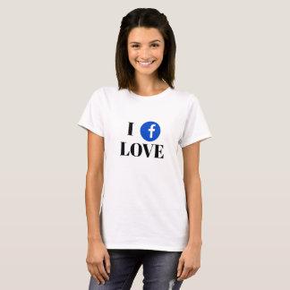 Facebook Fan Basic T-Shirt