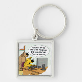 Facebook for Dogs Key Chains