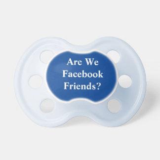 Facebook Friends Pacifier