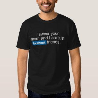 Facebook friends t shirts