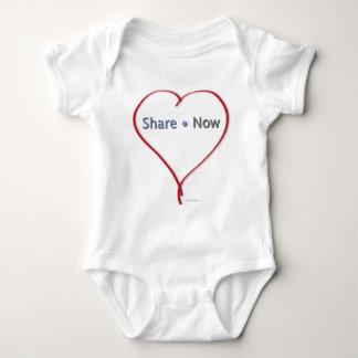 Facebook Heart - Share Now Tee Shirts
