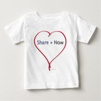 Facebook Heart - Share Now Tee Shirt