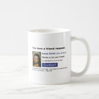 Facebook jesus mug